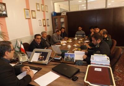 جلسه بررسی مشکلات شهر ورزقان