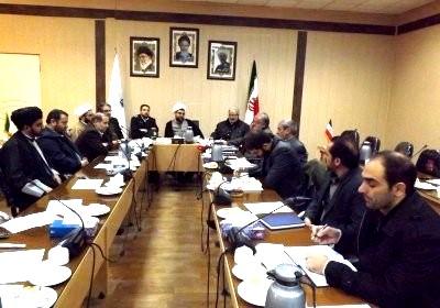 جلسه شورای اقامه نماز شهرستان ورزقان