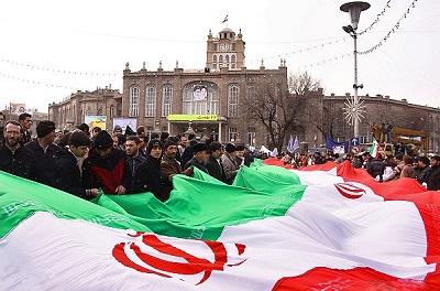 راهپیمایی 22 بهمن 93 تبریز