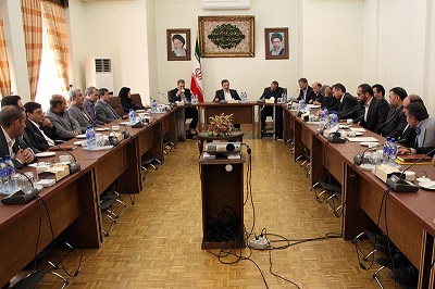 شست فرماندهان پایگاههای مقاومت فرمانداریهای استان