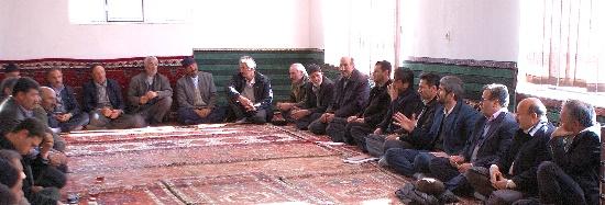 بازدید های دوره بخشدار مرکزی شهرستان ورزقان