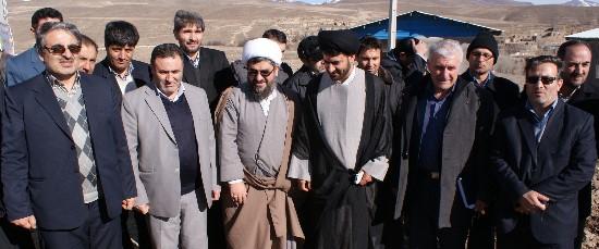 افتتاح مسجد روستاي تازه كند