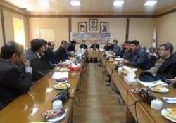 جلسه کمیته توسعه صنعت ،معدن وتجارت شهرستان ورزرقان
