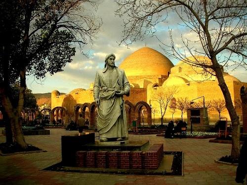 پارک خاقانی شهر تبریز