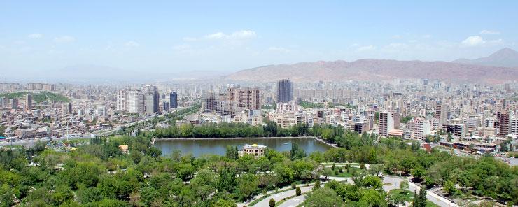 زیباترین شهر ایران - تبریز