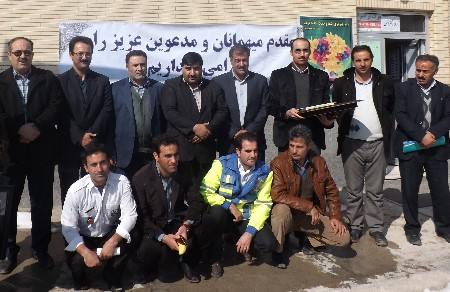 مراسم گرامیداشت مقام پرستار در شهرستان ورزقان
