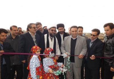 افتتاح واخد مسکونی در ورزقان