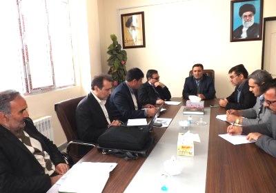جلسه بررسی مشکلات تلفن همراه شهرستان ورزقان