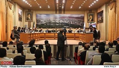 جلسه شورای شهر تبریز