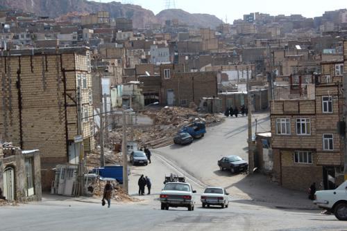 پروژه مسیر گشایی خلیل آباد تبریز
