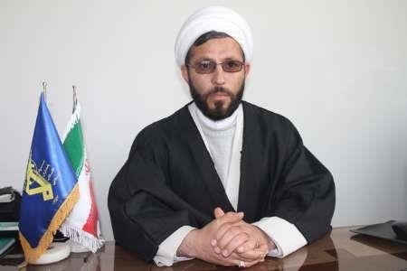 حجت الاسلام محمدزاده - مسئول دفتر نمایندگی ولی فقیه در سپاه ناحیه ورزقان
