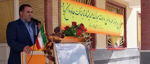 مراسم گرامیداشت روز معلم در ورزقان