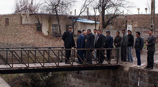 بازدید فرماندار ورزقان از طرحهای بنیاد مسکن