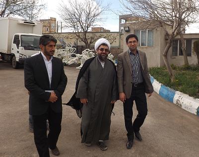 بازدید امام جمعه ورزقان از طرح های عمرانی شهرداری ورزقان