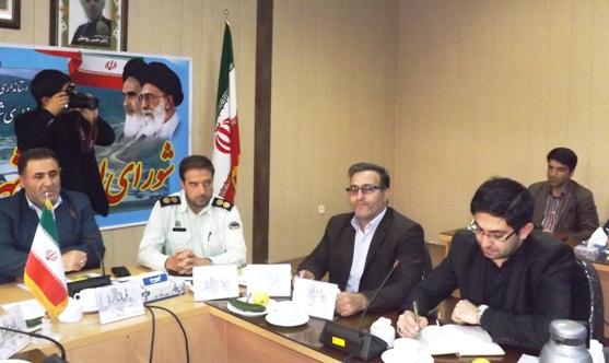 جلسه شورای اداری شهرستان ورزقان