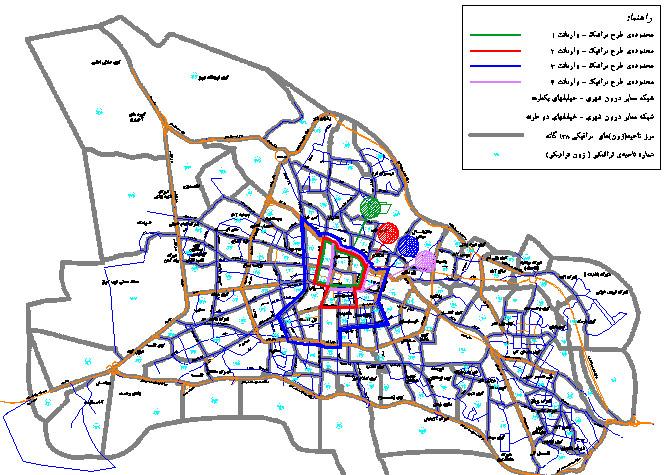 طرح جامع شهر تبریز