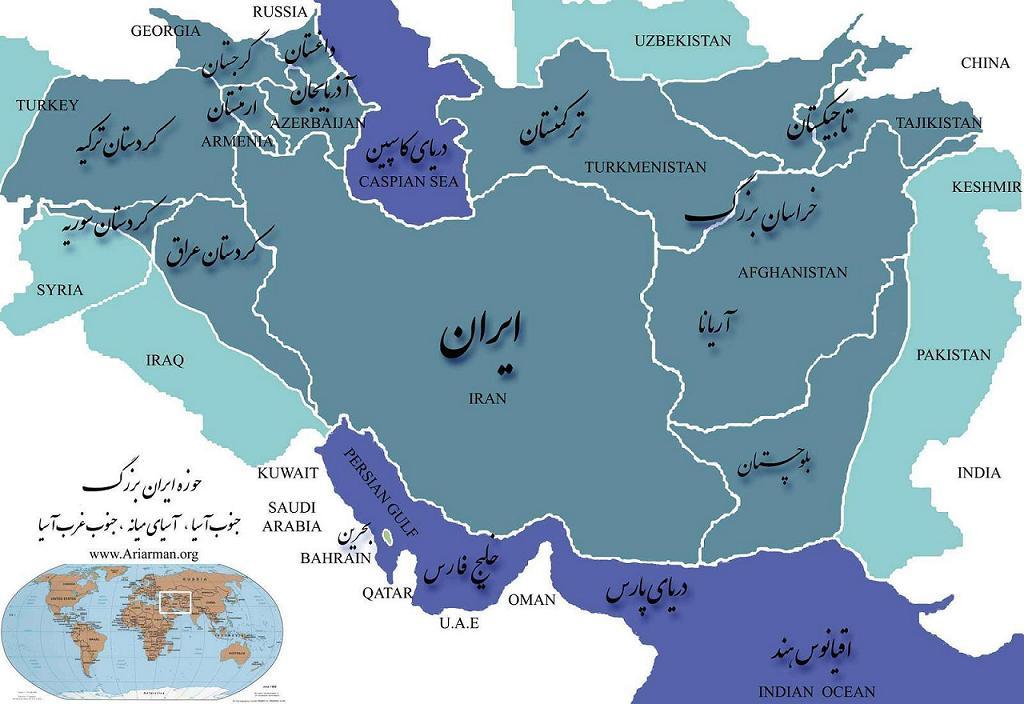 همسایه های ایران