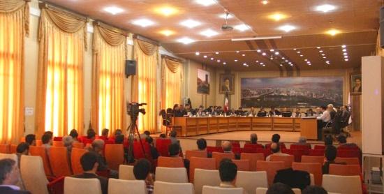 جلسه شورای شهر تبریز 1394