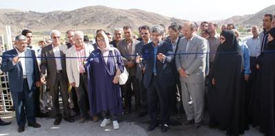 افتتاح مجتمع بزرگ فرهنگی ورزشی بخش خواجه هريس