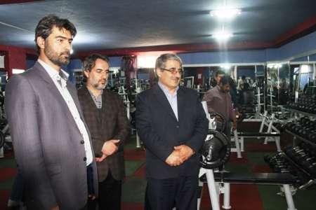 افتتاح نخستين باشگاه ورزش های پايه شهرستان ورزقـان