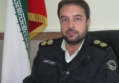 سرهنگ توحید فارسی فرمانده انتظامی شهرستان ورزقان