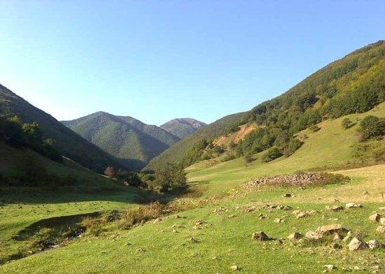 طبیعت روستای کرینگان ورزقان