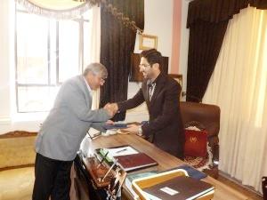 شورای شهر و شهردار ورزقان