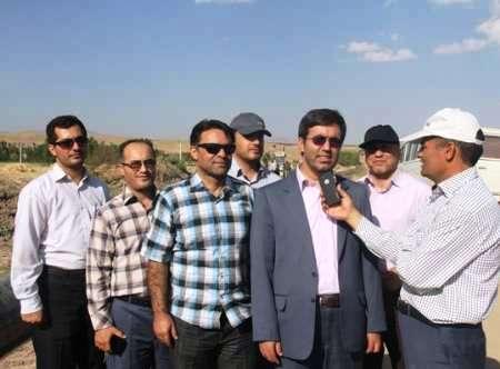 شرکت گاز استان آذربایجان شرقی - ورزقان