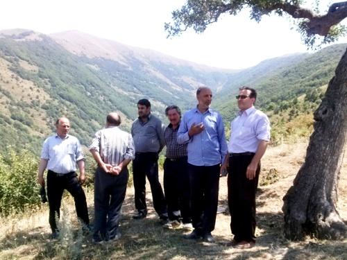 عملیات تسطیح و تعریض راه دسترسی روستاهای خوینرود، اوزی، طویل و اجاق کندی