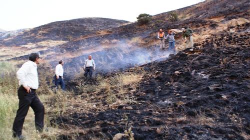 آتش سوزی شهرستان ورزقان