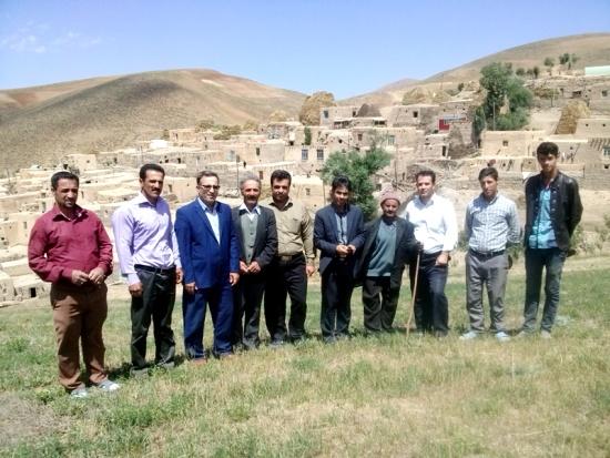 روستاي برازين - روستای بنه کاغي