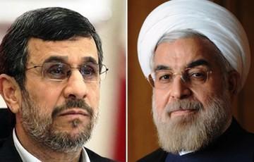 دکتر روحانی و احمدی نژاد