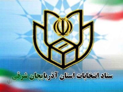 انتخابات مجلس استان آذربایجان شرقی