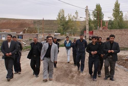 روستای آبخواره - اوخارا ورزقان