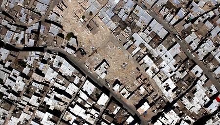 پروژه مسیرگشائی 42 متری انقلاب - خلیل آباد تبریز